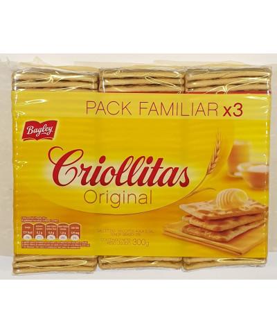 CRIOLLITAS X 3  100 GR.