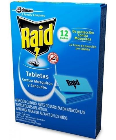 RAID TABLETA MOSQ 12 U C/U