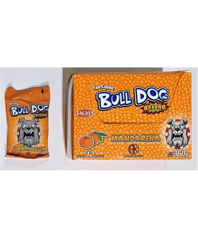 PAST BULL DOG X 12 MANDARINA