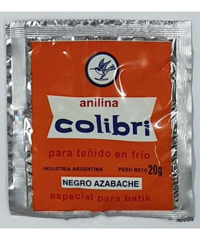 ANILINA COLIBRI EN FRIO NEGRO