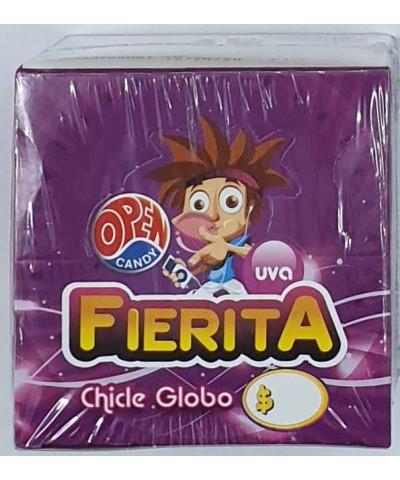 CHICLE FIERITA 100 U UVA /