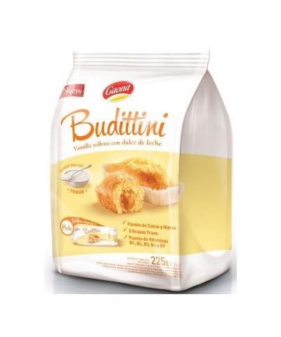 BUDITTINI BOLSA VAINILLA C/DULCE DE LECHE 5 U