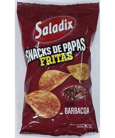 PAPAS SALADIX BARBACOA 95GR