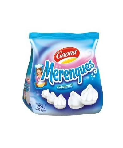 MERENGUES GAONA BLANCO 150GR /