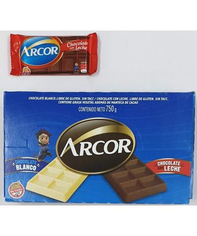 CHOCOLATE CELOFAN ARCOR NEGRO 25GR X30U