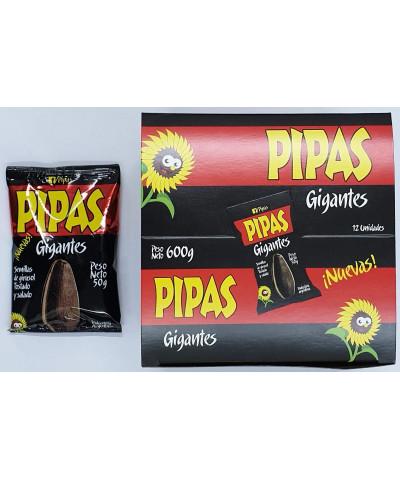 PIPAS GIGANTE  X 12