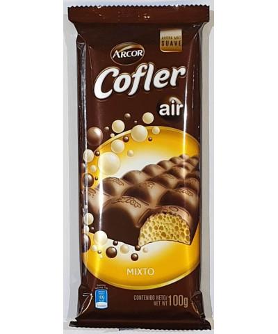 CHOCOLATE COFLER 100 GR.AIR MIXTO