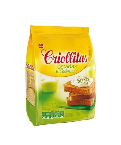 CRIOLLITAS TOSTADAS SALVADO 200 GR/