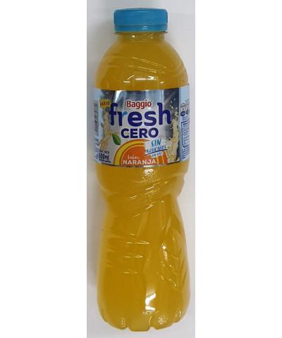 Agua Saborizada Baggio Fresh 600 Cc Sin Azucar Naranja