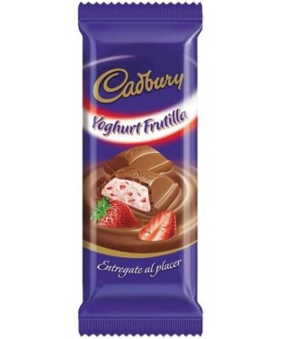 CHOCOLATE CADBURY YOGURT FRUTILLA 80 GR