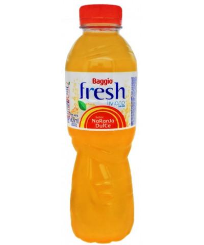 Agua Saborizada Baggio Fresh 600 Cc Naranja