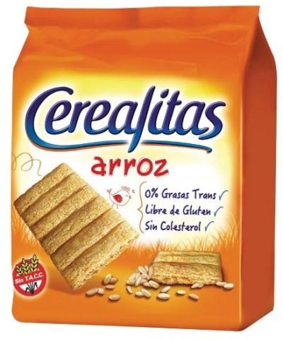 CEREALITAS TOSTADAS DE ARROZ 160GR