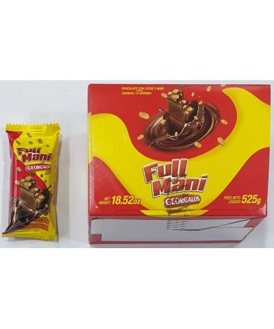 CHOCOLATE GEORGALO FULL MANI 35GR *C/U