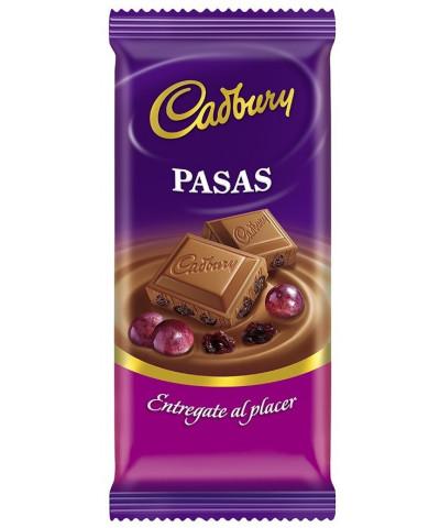 CHOCOLATE CADBURY 170 GR. PASAS /