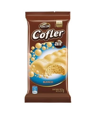 CHOCOLATE COFLER 27 GR.AIREADO BLANCO