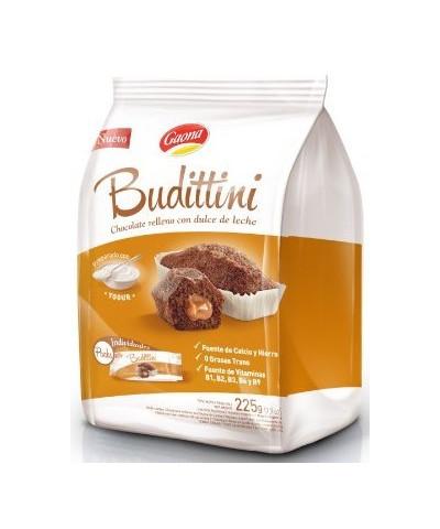 BUDITTINI BOLSA CHOCOLATE C/DULCE DE LECHE 5 U