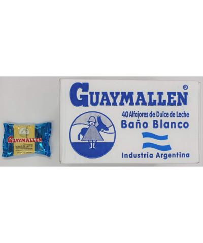 ALFAJOR GUAYMALLEN X 40 BLANCO