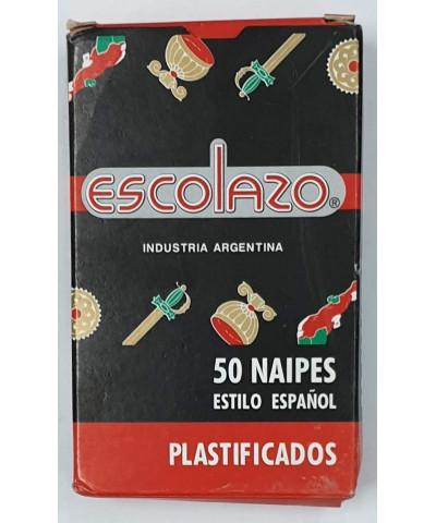 NAIPE ESCOLAZO X 50