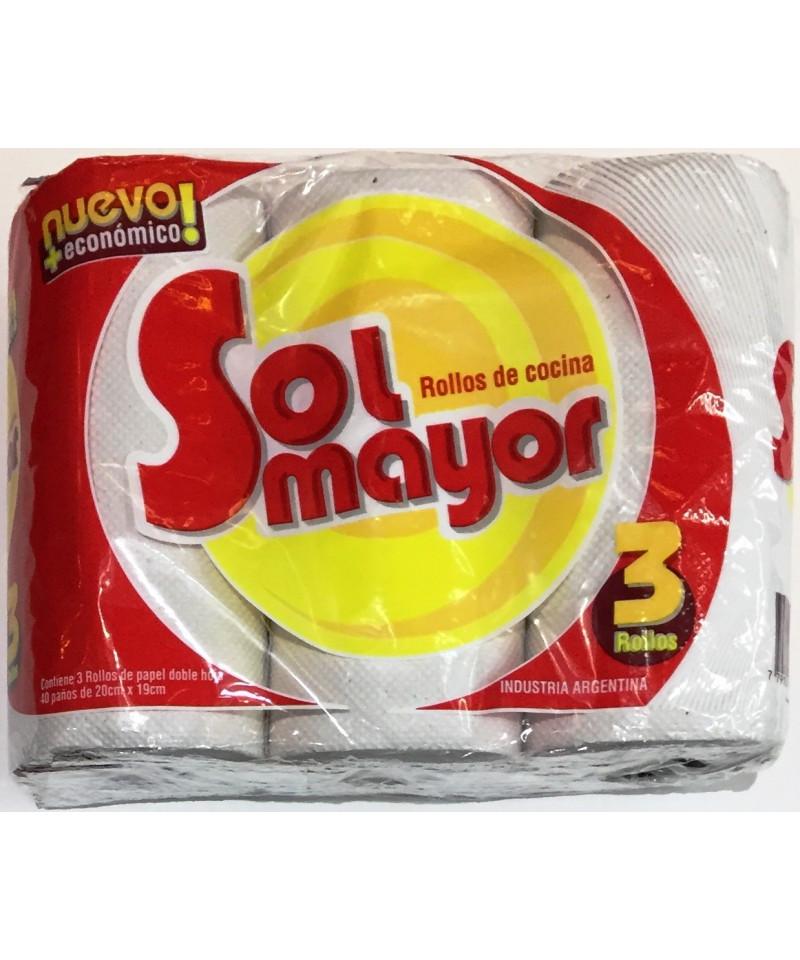 ROLLO COCIN X 3U SOL MAYOR