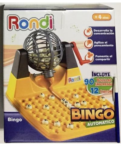 BINGO C/BOLILLERO RONDI