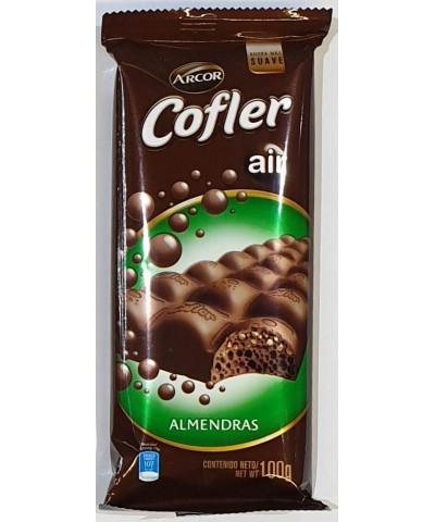 CHOCOLATE COFLER 100 GR.AIR ALMENDRA