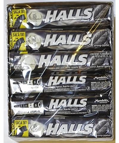 HALLS X 12 U EXTRA STRONG