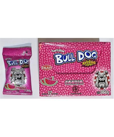 PAST BULL DOG X 12 U.SANDIA /