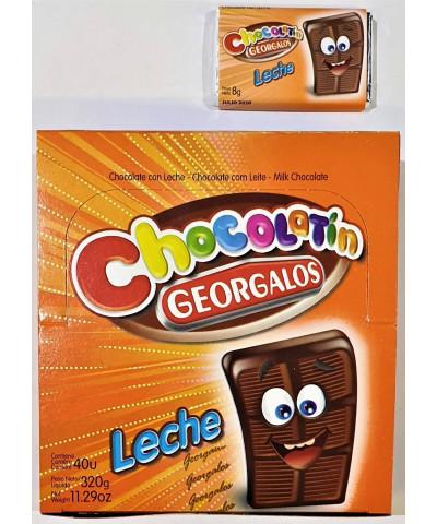 CHOCOLATE GEORGALO X40 NEGRO  /