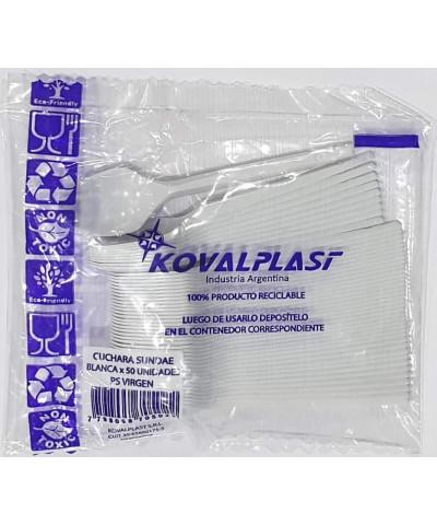 CUCHARAS PLAST X 50 KOVALPLAST