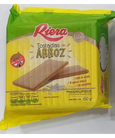 Tostada Arroz Riera 150g /