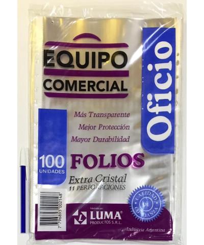 FOLIO EQUIPO COM OFI X 100
