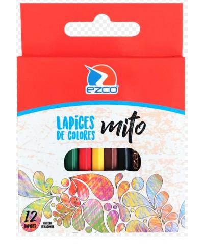 Lapiz Color Mito X 12 Corto