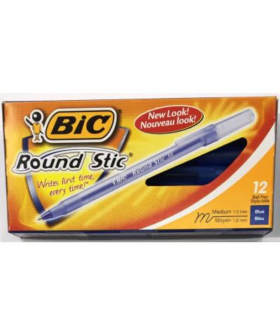 BIC ROUND STICK *C/U AZUL