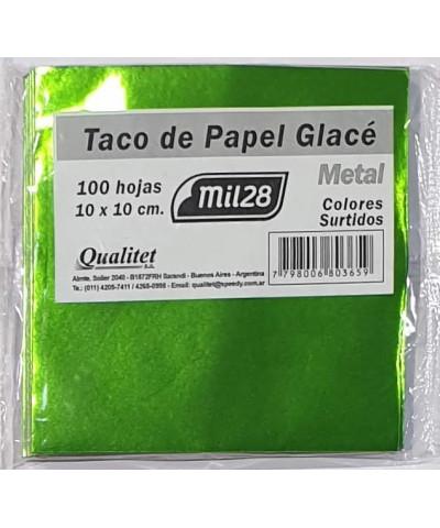 GLACE METALIZADO MIL28 TACO 100H