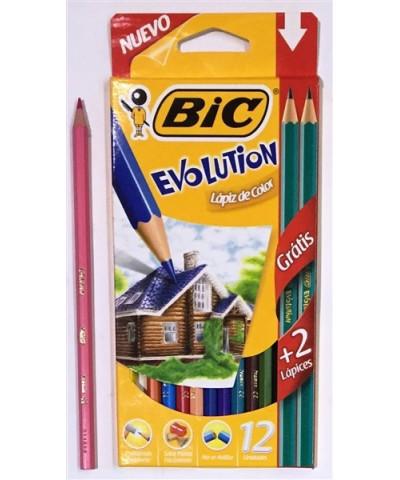 Lap Bic Color Evolut X12+ Graf