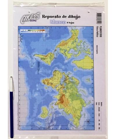 REPUESTO HOJAS DE DIBUJO MIL 28 N° 5 BLANCO