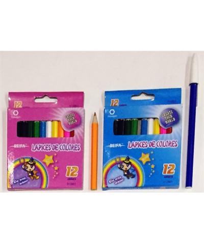 Lap Colores X 12 Cortos