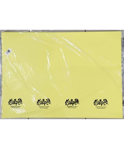 Cartul X 10 U Pastel Amarilla