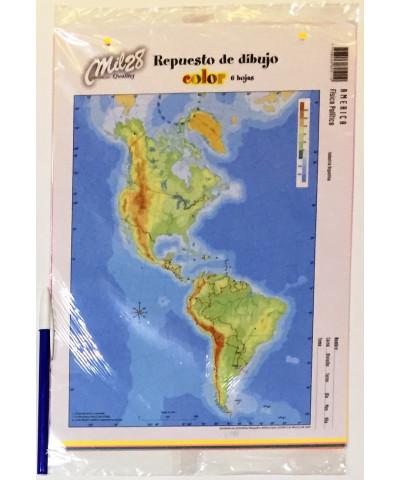 REPUESTO HOJAS DE DIBUJO MIL 28 N° 5 COLOR