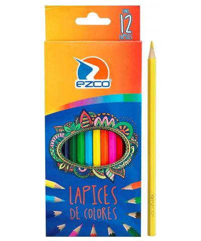 Lapiz Color Ezco X 12 L