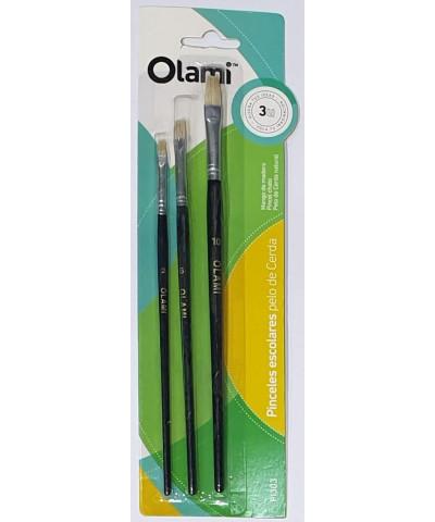PINCEL OLAMI X3 BLISTER