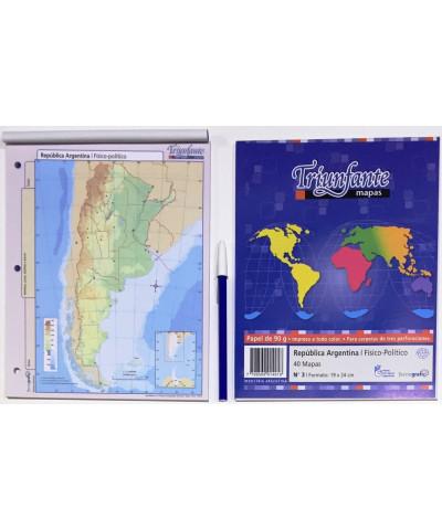 MAPA N.3 F/PO. ARGENTINA