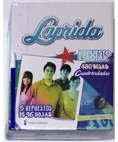REPUESTO LAPRIDA 480 HOJAS CUADRO
