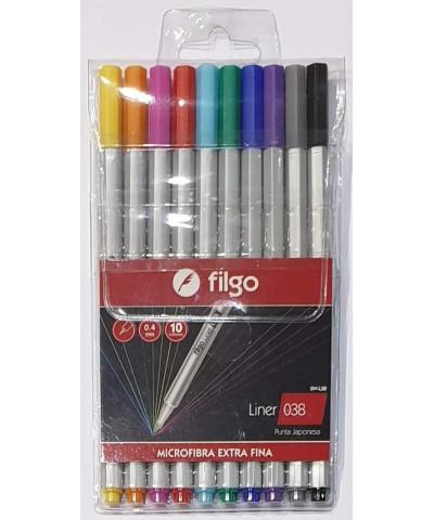 MICROFIBRA FILGO 038 X 10U 0.4MM