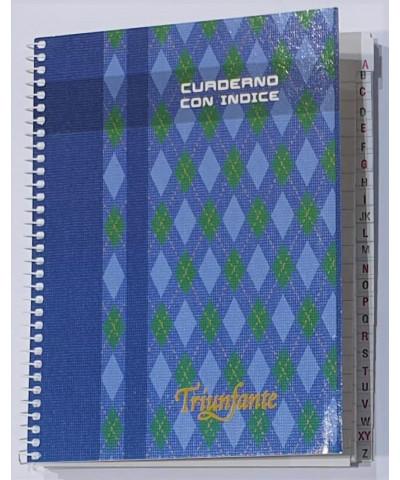CUADERNO CON INDICE TRIUNFANTE 96 H