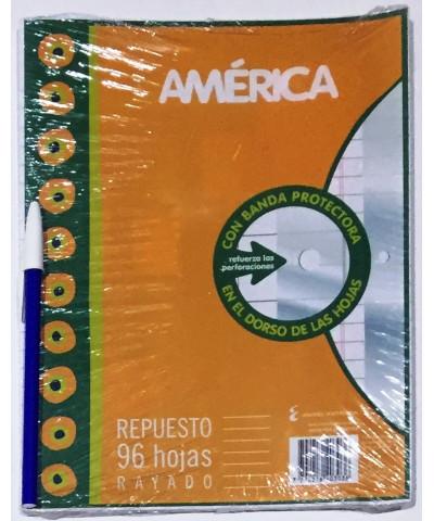 REPUESTO AMERICA 96 HOJAS RAYA