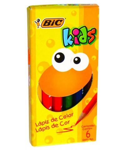 Lap Bic Kids Jumbo X 6