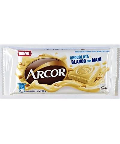 Choc Arcor 100 Gr. Blanco/man