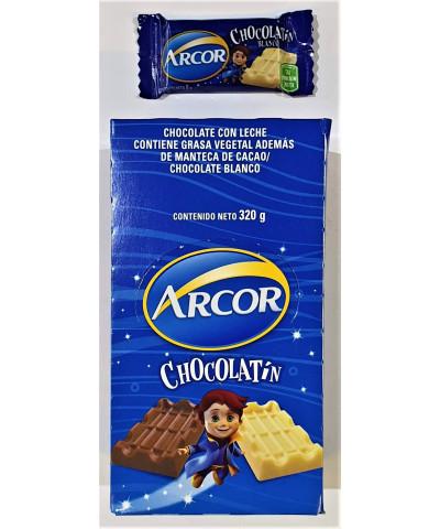 CHOCOLATE ARCOR X 20 U   8GR    BLANCO