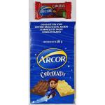 CHOCOLATE ARCOR X 20 U   8GR  NEGRO